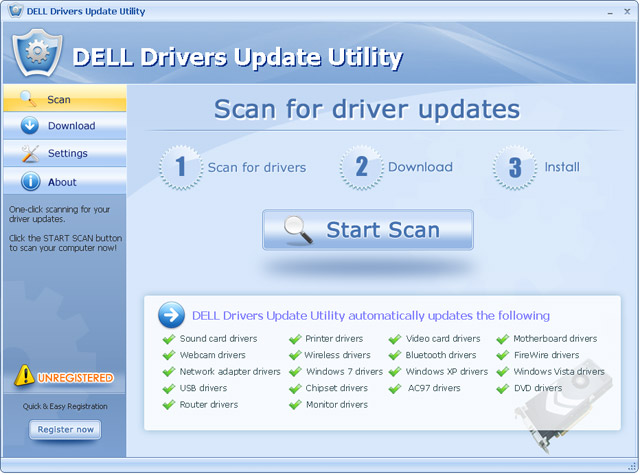 Dell driver download utility.